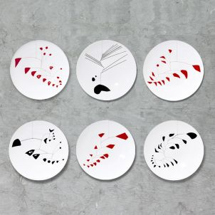 Alexander Calder Mobile Limited Edition Plate Set