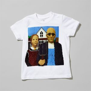 Lego American Gothic Kid's Tee
