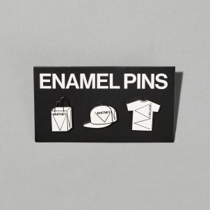 Whitney Enamel Pin Set