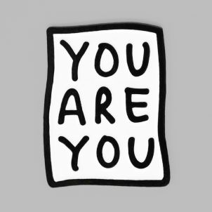 YOU ARE YOU Enamel Pin