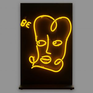 BE WELL: A Lite Brite Neon Edition