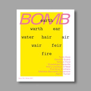 BOMB Magazine Issue 154, Winter 2021
