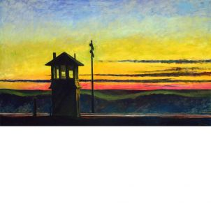 Edward Hopper, Railroad Sunset, medium (17 x 26 in.) print