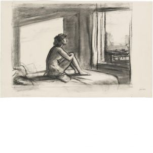 Edward Hopper, Study for Morning Sun, small (14.2 x 20 in.) print