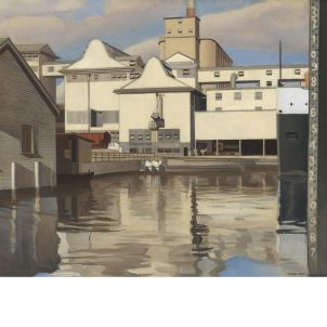 Charles Sheeler, River Rouge Plant, medium (22.48 x 26 in.) print
