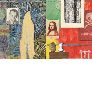 Jasper Johns, Racing Thoughts, medium (18 x 26 in.) print