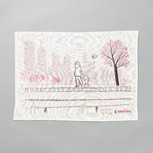 Oliver Jeffers x High Line Tea Towel