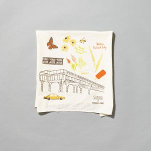 Claudia Pearson x High Line Tea Towel