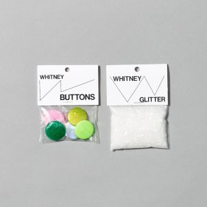 Buttons and Glitter Set