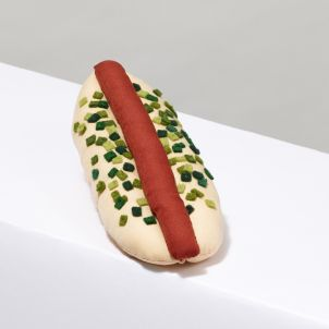 Yuki & Daughters Stuffed Hot Dog with Relish
