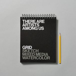 There Are Artists Among Us Spiral Notebook