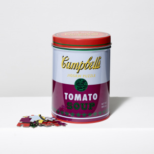 Andy Warhol Soup Can Puzzle