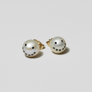 Smile Pearl Earrings