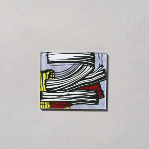 Roy Lichtenstein Little Big Painting Magnet
