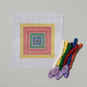 The Mesh Canvas: Frank Stella
