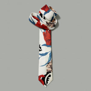 Michelle Obama Floral Dress Tie