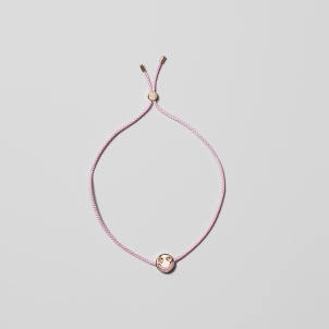 Rose Gold Smitten Friendship Bracelet