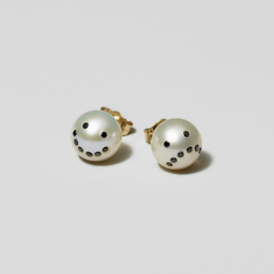 Drama Pearl Earrings