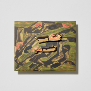 Jacob Lawrence War Series Pin Set/2