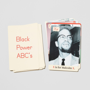Black Power ABC's Card Set
