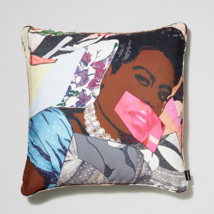 Mickalene Thomas Clarivel Centered Pillow