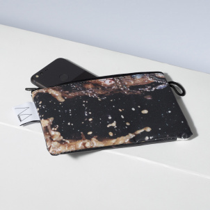 Recycled Whitney Banner Pouch
