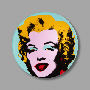 Andy Warhol Marilyn Porcelain Plate