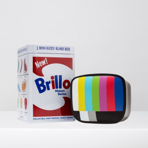 Andy Warhol x Kidrobot Mini Brillo Box Surprise Box