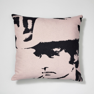 Andy Warhol Dennis Hopper Wool Pillow
