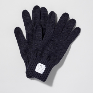 Whitney Logo Wool Gloves