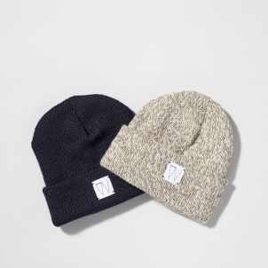 Whitney Logo Wool Knit Cap