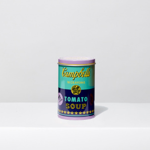 Andy Warhol Soup Can Crayons- Purple