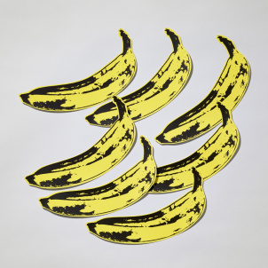 Andy Warhol Banana Wall Decal