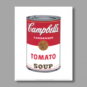 Soup Cans by Andy Warhol Prints Set/3