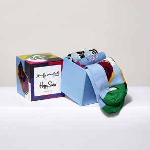 Andy Warhol Skull Sock Gift Box