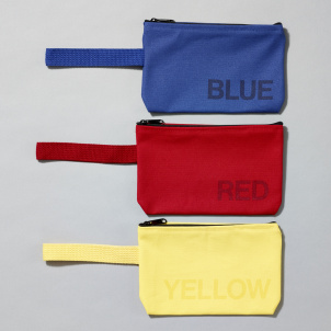 Primary Color Pouch