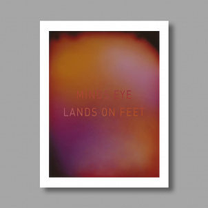 Radiant Human Mind's Eye/ Lands On Feet Wall Decal