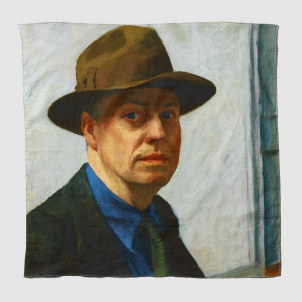 Edward Hopper Self Portrait Bandana