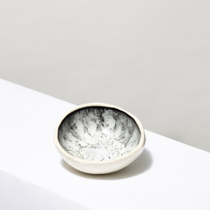 Andrea Zittel Marble Glazed Ceramic Bowl- Tiny