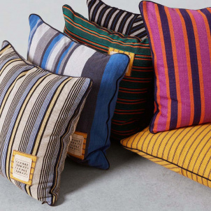 Striped Goodee Throw Pillow