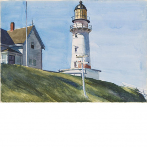 Edward Hopper, Light at Two Lights, medium (19.4 x 26 in.) print
