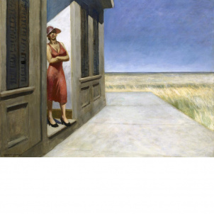 Edward Hopper, South Carolina Morning, medium (20 x 26 in.) print
