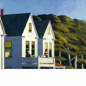 Edward Hopper, Second Story Sunlight, medium (21.6 x 26 in.) print