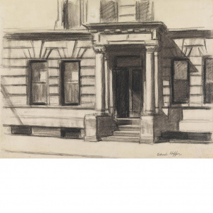 Edward Hopper, Study for Summertime, medium (20.3 x 26 in.) print