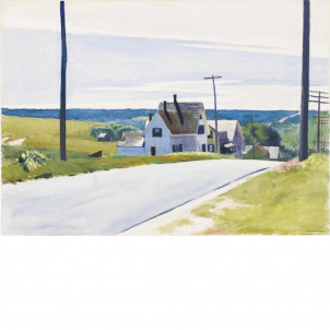 Edward Hopper, High Road, medium (19.7 x 26 in.) print