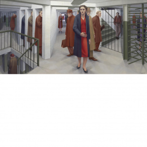 George Tooker, Subway, medium (15 x 26 in.) print