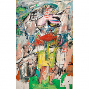 Willem de Kooning, Woman and Bicycle, medium (26 x 18 in.) print