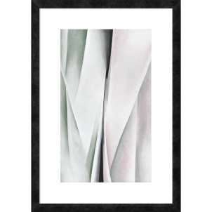 Georgia O'Keeffe, Abstraction, medium (26 x 17 in.) print framed