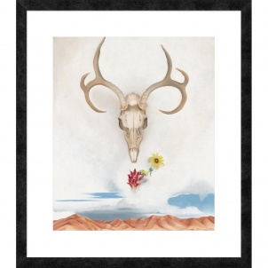 Georgia O'Keeffe, Summer Days, medium (26 x 22.33 in.) print framed