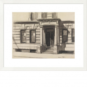 Edward Hopper Study for Summertime, 1943 (20.3 x 26 in.) framed print - Medium